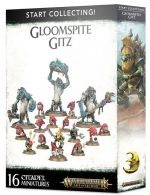 Stolní hra W-AOS: Start Collecting Gloomspite Gitz (16 figurek)