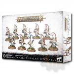 Stolní hra W-AOS: Lumineth Realm Lords Vanari Auralan Sentinels (10 figurek)