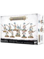 Stolní hra W-AOS: Lumineth Realm Lords Vanari Auralan Wardens (10 figurek)
