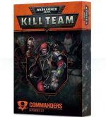 Warhammer 40.000: Kill Team - Commanders (rozšírenie) (KNIHY)