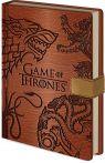 Zápisník Game of Thrones - Sigils Notebook