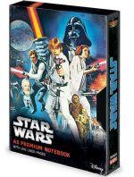 Hračka Zápisník Star Wars - New Hope VHS