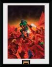 Zarámovaný plakát Doom: Classic Theme