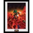 Zarámovaný plagát Doom: Classic Theme
