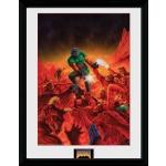 Zarámovaný plagát Doom: Classic Theme (HRY)