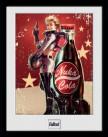 Zarámovaný plakát Fallout: Nuka Cola