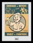 Zarámovaný plakát Fallout: Vault Forever