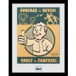 Hračka Zarámovaný plakát Fallout: Vault Forever