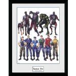 Zarámovaný plagát Resident Evil: Concept Art
