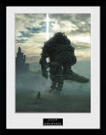 Zarámovaný plagát Shadow of the Colossus - Key Art (HRY)