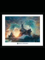 Hračka Zarámovaný plakát World of Warships - Dragons