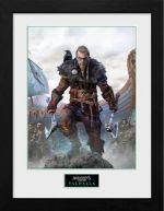 Zarámovaný plagát Assassins Creed: Valhalla - Standard Edition (HRY)