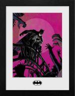 Zarámovaný plagát DC Comics - Batman Arkham (HRY)