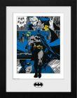 Zarámovaný plakát DC Comics - Batman Panels