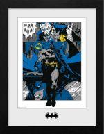 Zarámovaný plagát DC Comics - Batman Panels (HRY)