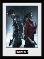 Zarámovaný plagát Resident Evil 2 - Keyart (HRY)
