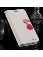 pouzdro Cherry (Samsung Galaxy S3) - bílé