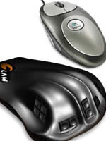 Herné príslušenstvo CLAW + MouseMan Dual Optical