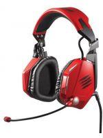 Hern� pr�slu�enstvo Sl�chadl� Cyborg F.R.E.Q 5 Stereo headset (�erven�)