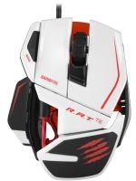 Herné príslušenstvo Cyborg R.A.T. TE herná myš (8200 dpi) (biela)