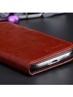 Príslušenstvo k Mobilným telefónom Puzdro Fashion (hnedé) (Samsung Galaxy S4)