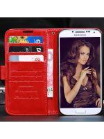 Příslušenství k mobilnímu telefonu pouzdro Fashion (Samsung Galaxy S4) - červené