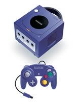 Príslušenstvo pre GameCube Konzola GameCube fialová