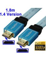Hern� pr�slu�enstvo K�bel HDMI 1.4 (ploch�, d�ka 1,8m, pre 3D i Ethernet)