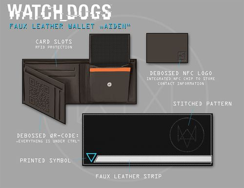 Watch Dogs  Dedsec Wallet