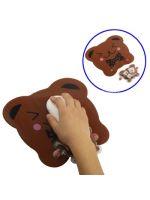 Herní příslušenství Podložka pod myš Cute Bear + polštářek na zápěstí