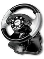 Hra pre PC volant SpeedLink SL-6682 2in1 Silver Lightning Wheel