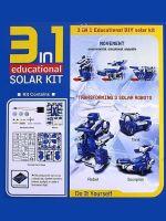 Herné príslušenstvo Solar Robot 3 in 1 Educational DIY Solar Kit