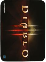 Herné príslušenstvo Podložka pod myš SteelSeries QCK mini - Diablo III (logo)