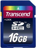 Herní příslušenství Transcend SDHC 16GB Premium (Class 10)