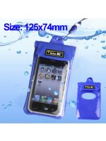 Vodotesné puzdro pre iPhone 4, 3GS, 3G, iPod Touch... (modré) (HW)