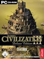 Hra pre PC Civilization 3 DeLuxe