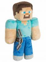 Hračka Plyšák Minecraft - Steve s krumpáčem