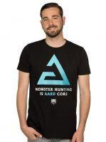 oblečení pro hráče Tričko Zaklínač - Aard Core (americká vel. 2XL/evropská 3XL)