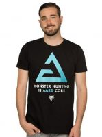 oblečení pro hráče Tričko Zaklínač - Aard Core (americká vel. M/evropská L)