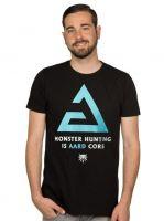 oblečení pro hráče Tričko Zaklínač - Aard Core (americká vel. S/evropská M)