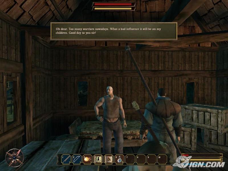 لعبة الاكشن والاثارة الرائعة Gothic Forsaken Gods بحجم جيجا اكثر gothic3for