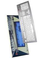 Joystick pre PC Klávesnica C-Tech KB-9848 podsvietená Pro-Game