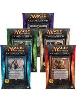 Stolová hra Magic the Gathering Commander 2014 Deck (5 balíčkov)