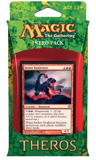 Magic the gathering theros intro pack blazing beasts for Portent of betrayal