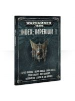 Kniha WarHammer 40.000 INDEX: Imperium 1