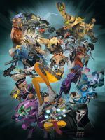 Komiks Overwatch: Anthology Volume 1 (KNIHY)