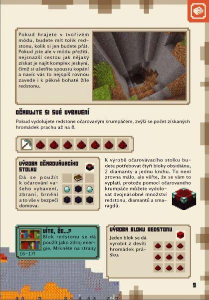 Kniha Minecraft Prirucka Redstone Gameexpres Cz