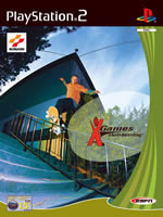 Hra pre Playstation 2 ESPN X Games Skateboarding