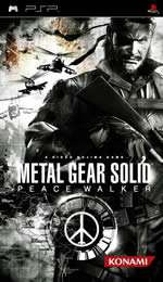 Hra pre PSP Metal Gear Solid: Peace Walker