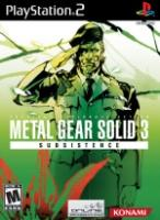 Hra pre Playstation 2 Metal Gear Solid 3: Subsistence dupl